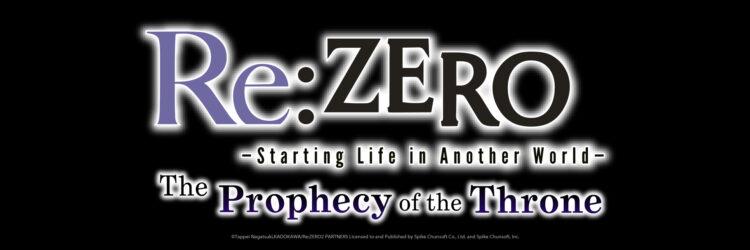 Un jeu de Re:Zero s'en vient!